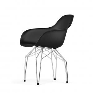 Kubikoff Diamond stoel - V9 Armshell - Chroom onderstel -