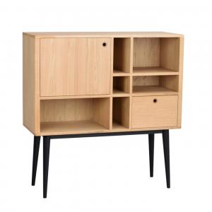 Nordiq Vienna highboard - scandinavisch dressoir - 120 cm - Eiken - Design