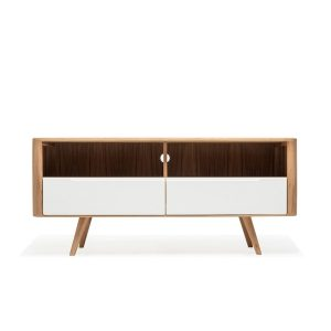 Gazzda Ena TV Sideboard Three - Retro TV meubel - Scandinavisch