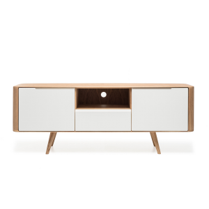 Gazzda Ena TV Sideboard Two - Scandinavisch TV meubel - Retro - Loca / Lodge