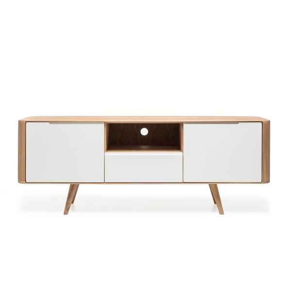 Gazzda Ena TV Sideboard Two - Scandinavisch TV meubel - Retro - Loca / Lodge