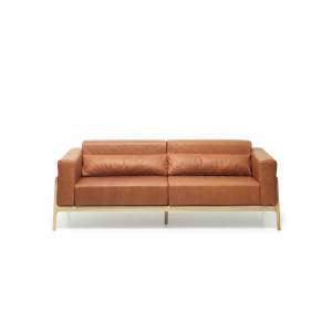Gazzda Fawn Sofa - Scandinavische bank - Leer