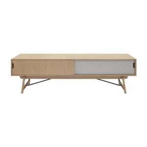 Artichok Scandinavisch TV meubel - Sophia - 180 cm - Eikenhout -
