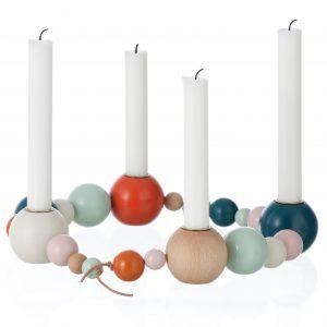 Ferm Living Candleholder string kandelaar