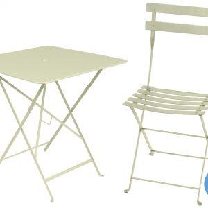 Fermob Bistro tuinset 71x71 tafel + 4 stoelen