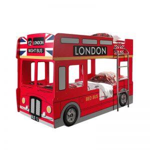Vipack London Bus - Stapelbed