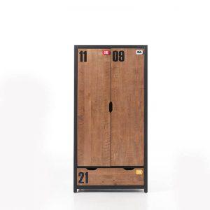 Vipack Alex - Kledingkast 2 deurs