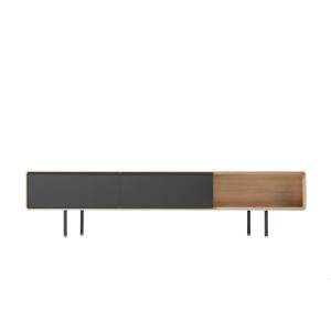 Gazzda Fina Lowboard - Scandinavisch TV meubel - Retro - Hout
