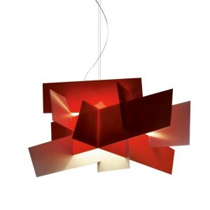 Foscarini Big Bang hanglamp LED dimbaar rood