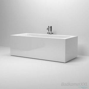 Clou InBe vrijstaand ligbad 178x80 cm rechthoek wit