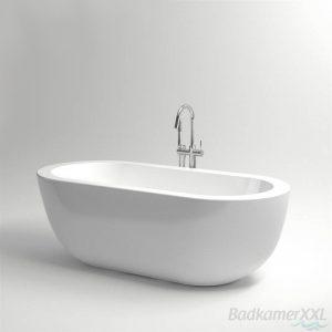 Clou InBe vrijstaand ligbad 180,5x85 cm ovaal wit