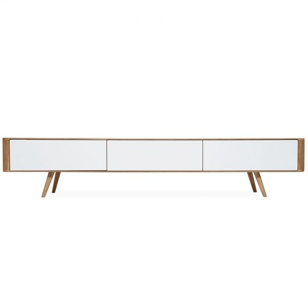 Gazzda Ena TV Sideboard - Retro TV Meubel - Scandinavisch Design - Loca / Lodge