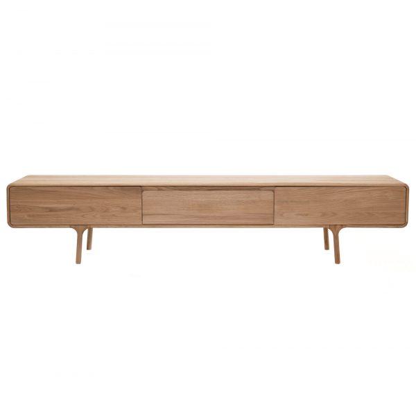 Gazzda Fawn Lowboard - Vintage dressoir - TV meubel - Eikenhout - Design