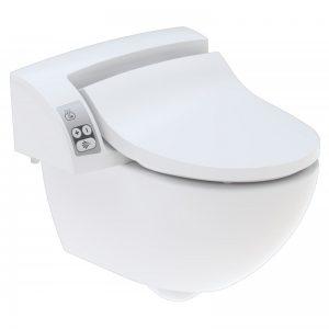 Geberit Aquaclean 5000 plus douche wc met closet model 2 wit