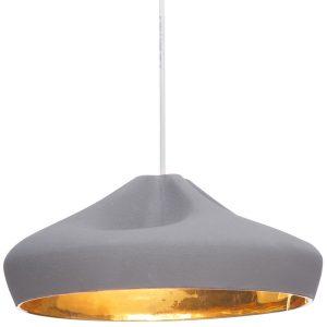 Marset Pleat Box 36 hanglamp grijs/goud