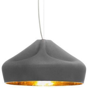 Marset Pleat Box 47 hanglamp grijs/goud