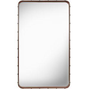 Gubi Adnet Rectangulaire spiegel M bruin