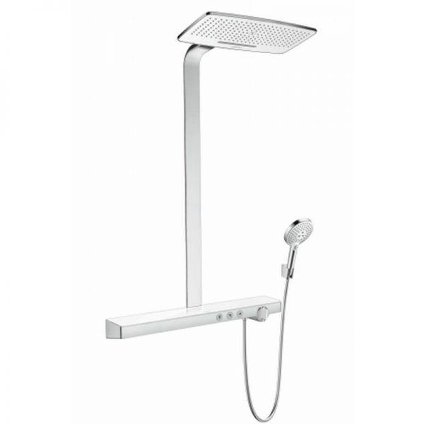 Hansgrohe Rainmaker select 420 2jet showerpipe wit-chroom