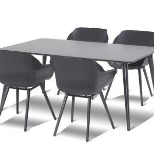 Hartman Sophie Studio tuinset 170x100 tafel + 4 stoelen