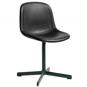 Hay Neu10 Chair Alu Swivel v1 Green base w. Silk/SIL0681