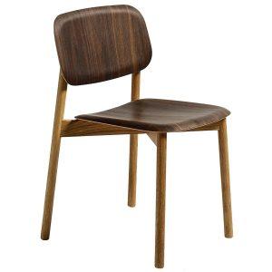 Hay Soft Edge Wood stoel Solid Oak - Smoked