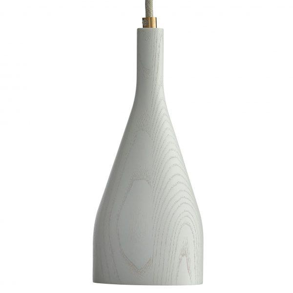 Hollands Licht Timber hanglamp large wit essen