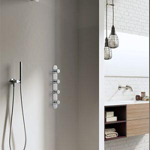 Hotbath IBS 7 Get Together inbouw doucheset met cascade waterval hoofddouche chroom