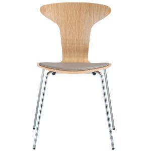 Howe Munkegaard Chrome stoel met zitkussen