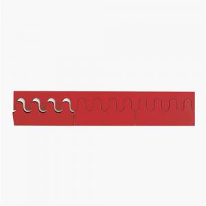 Ponoq kapstop rood-wit 744 mm 12 haken