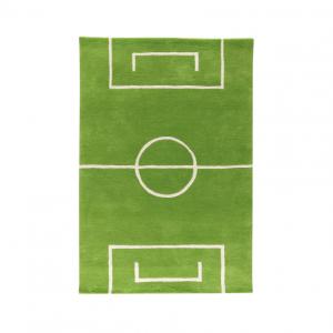 Football vloerkleed groen 120x180