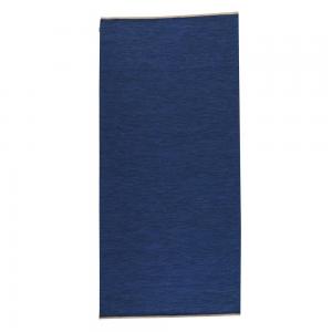 Allium vloerkleed 80x250 cm donkerblauw