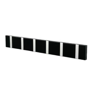 Loca Knax kledinghanger 60 cm zwart-grijs