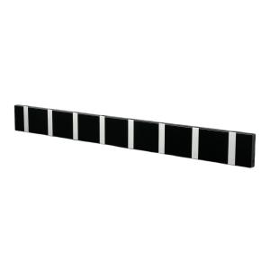 Loca Knax kledinghanger 80 cm zwart-grijs