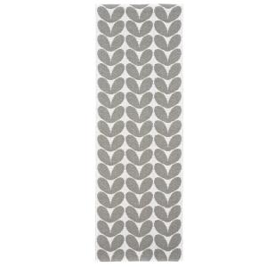 Karin vloerkleed grijs 70 x 250 cm.