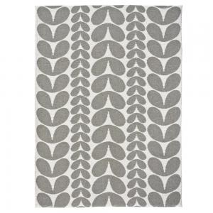 Karin vloerkleed grijs groot 150 x 200 cm.