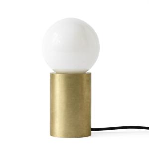 Socket tafellamp geborsteld messing