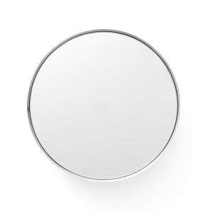 Darkly spiegel klein geborsteld aluminium