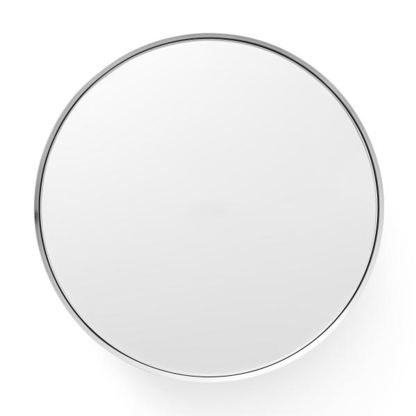 Darkly spiegel groot geborsteld aluminium