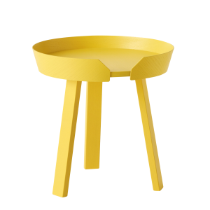 Around tafel small geel