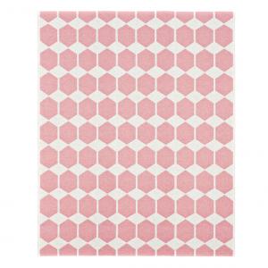 Anna vloerkleed roze groot 150 x 200 cm.