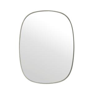 Framed spiegel klein grijs