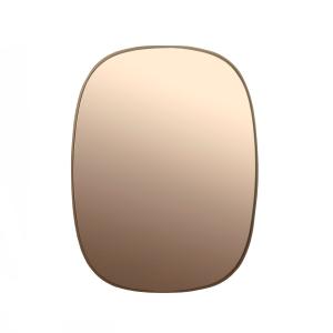 Framed spiegel klein roze