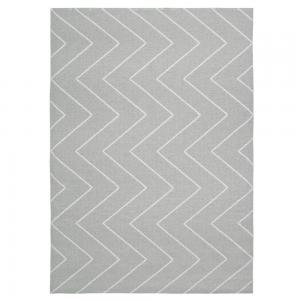 Rita vloerkleed groot grijs 150 x 200 cm.