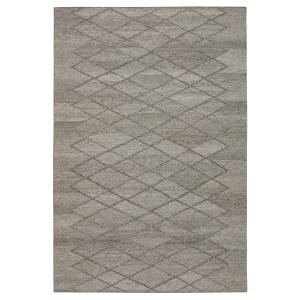 Peak wollen vloerkleed naturel grijs 140 x 200 cm.