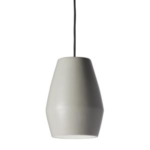 Bell lamp mat grijs