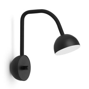 Blush wandlamp zwart