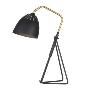 Lean tafellamp zwart