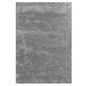 Solid viskos vloerkleed 250 x 350 cm. elephant grey (grijs)