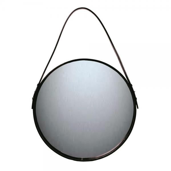 Ørskov spiegel zwart Ø 40 cm.