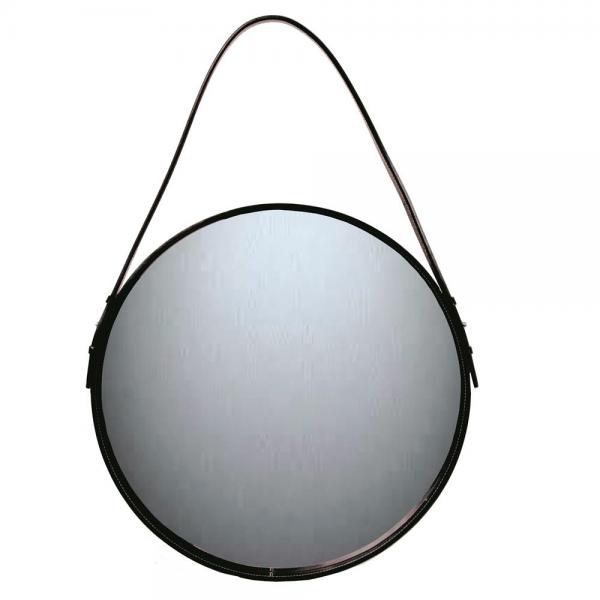 Ørskov spiegel zwart Ø 50 cm.